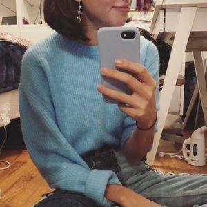 Baby Blue Sweater